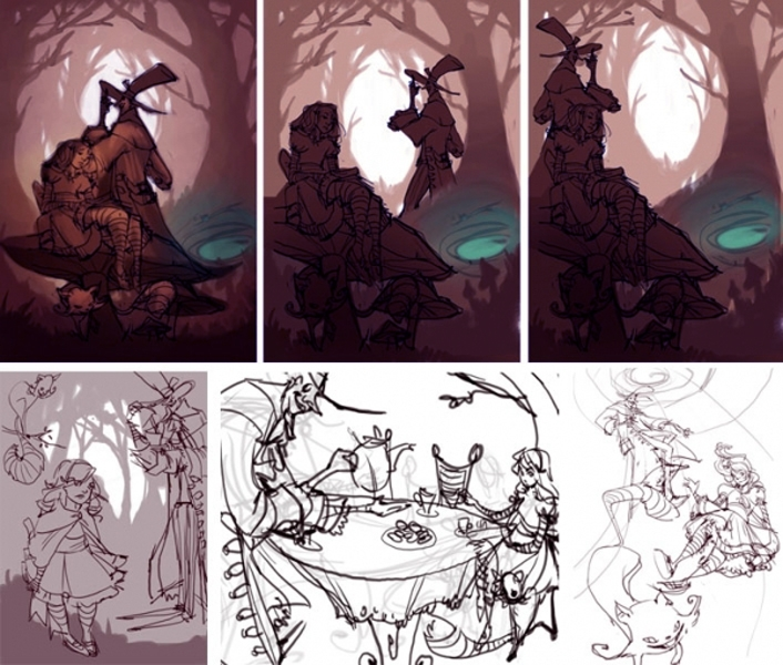 Concept Art Animation Assorted Loish Net