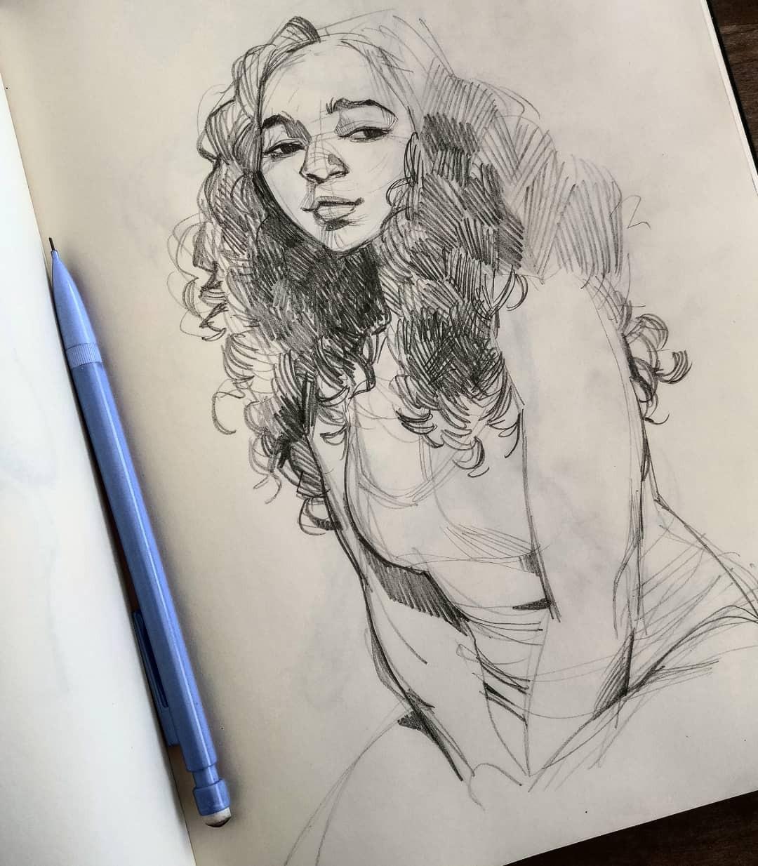 pencil sketches 2018