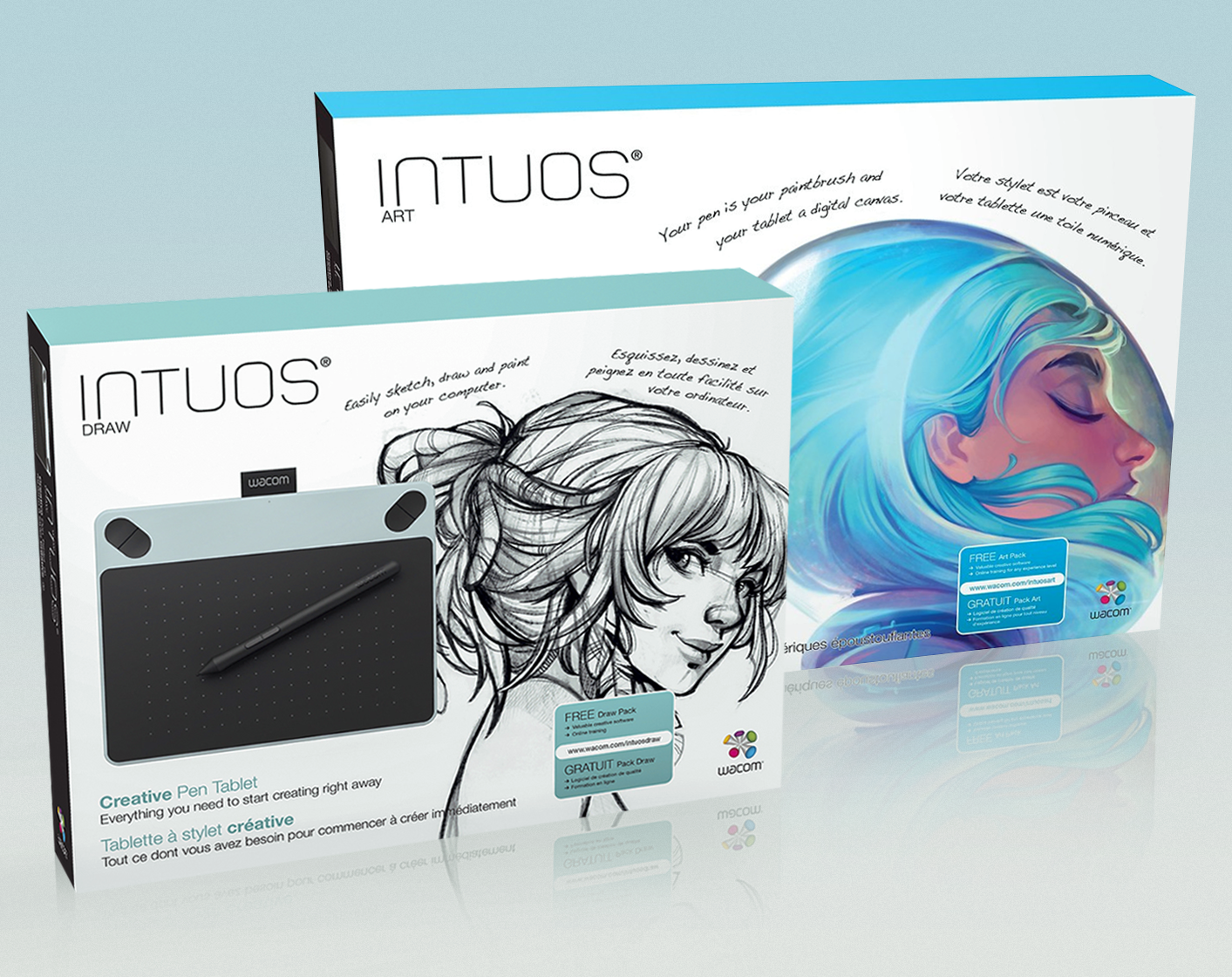 Wacom // Intuos packaging