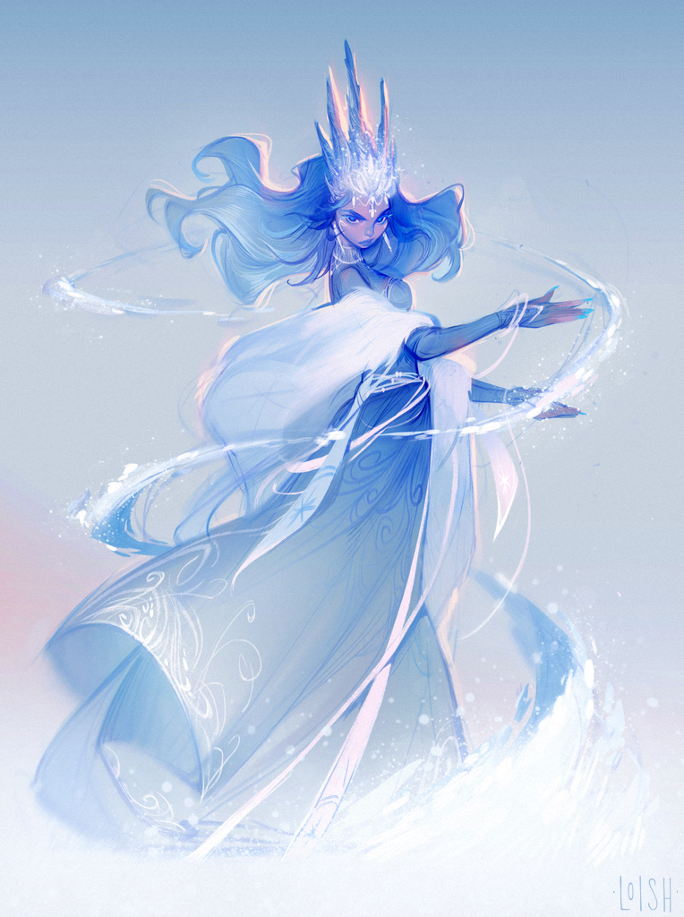 21Draw // Snow Queen