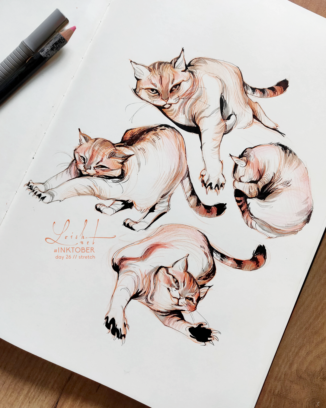 inktober 2018 // animals