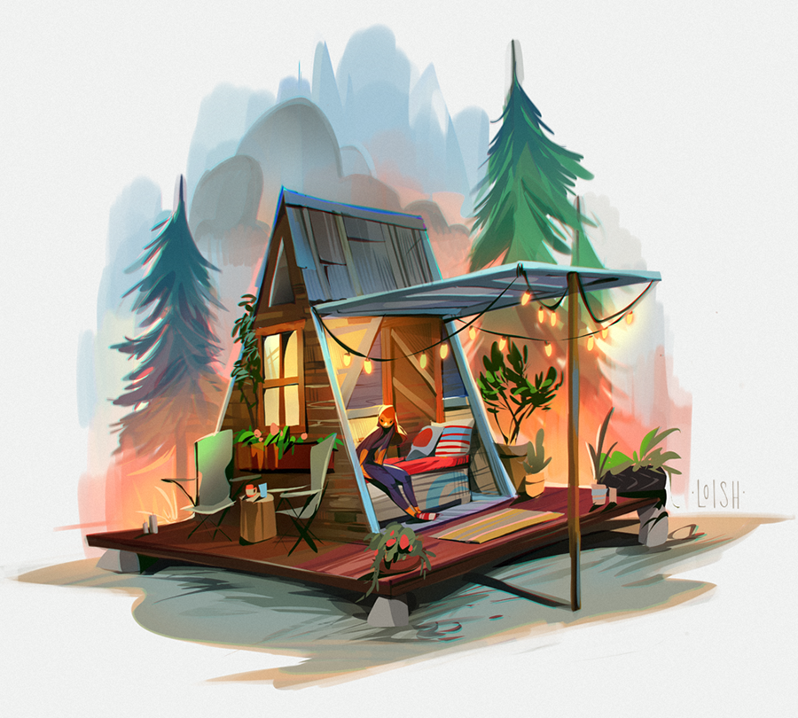 tiny house sketches