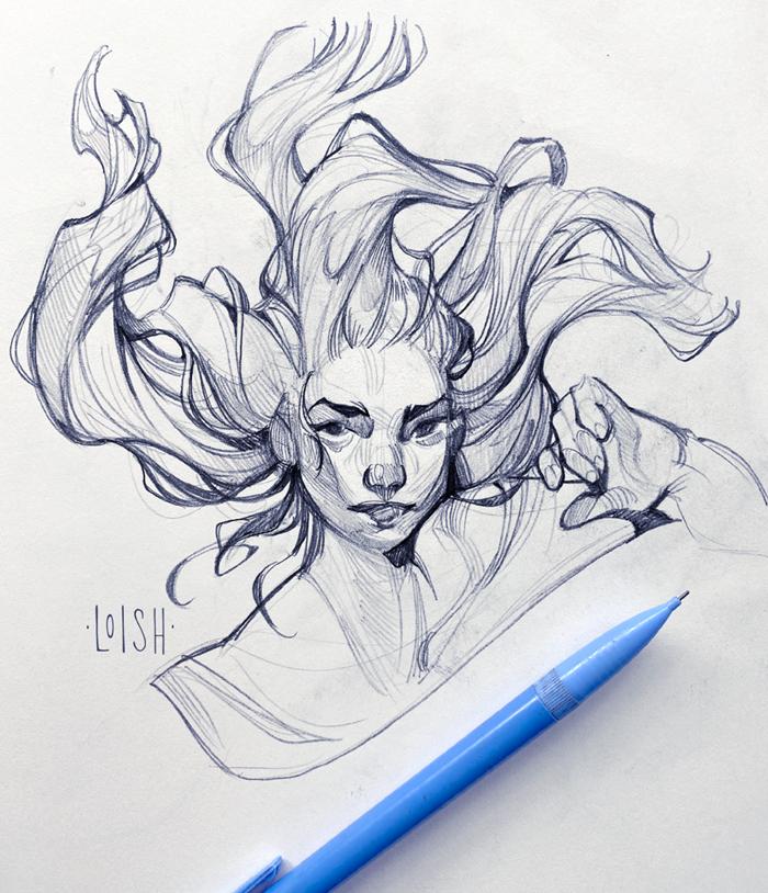 underwater sketches